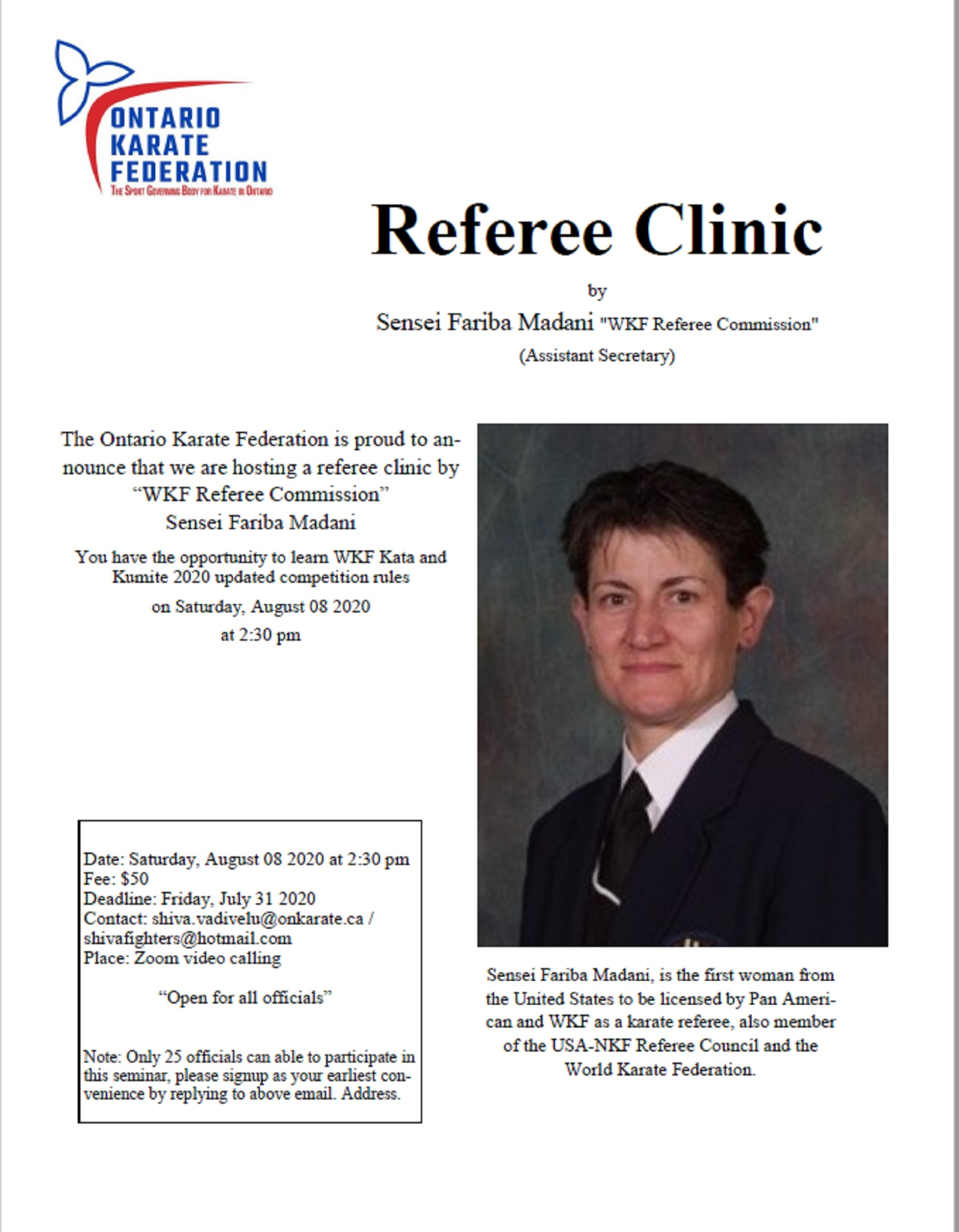 Referee Clinic