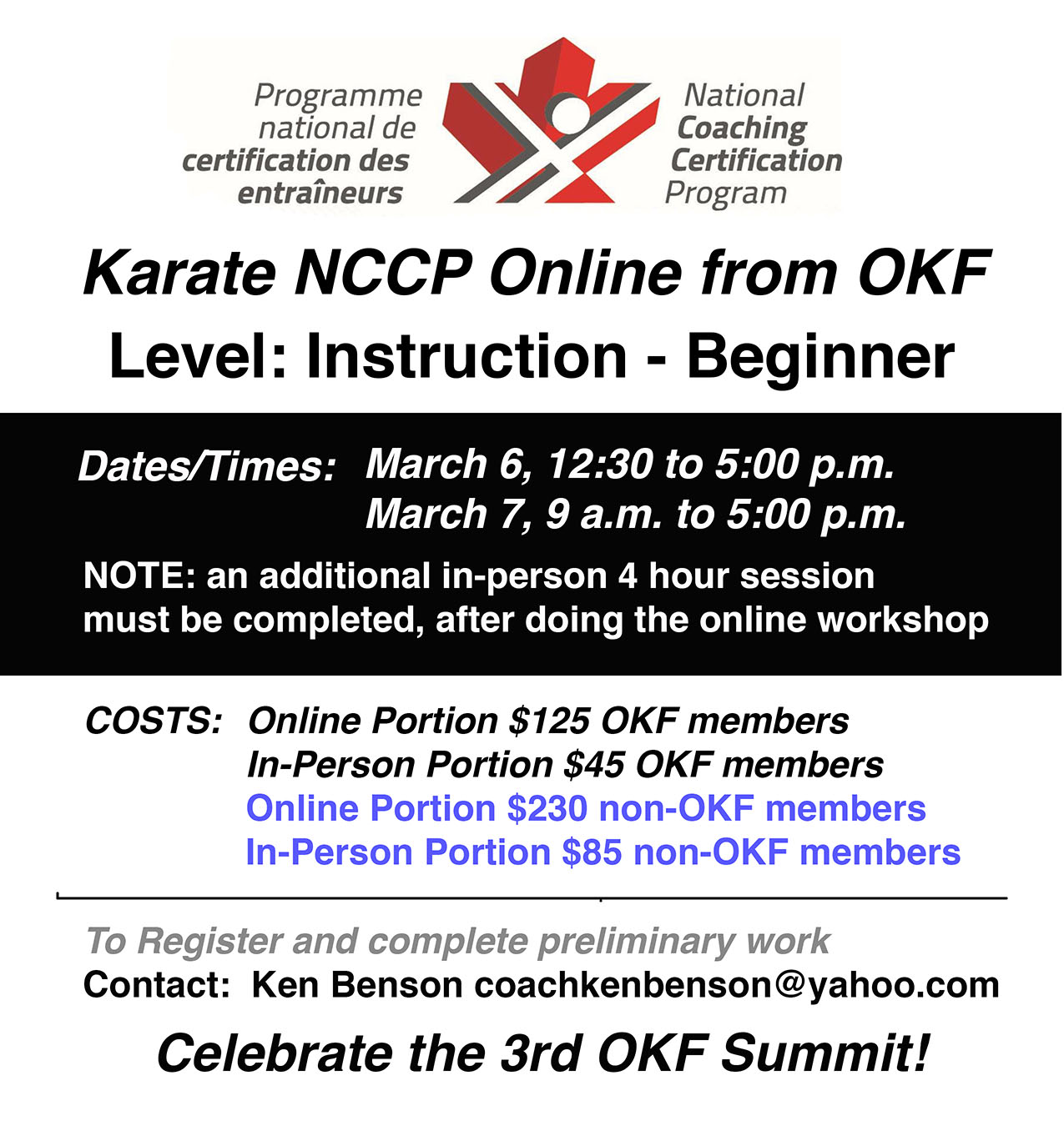 NCCP online from OKF