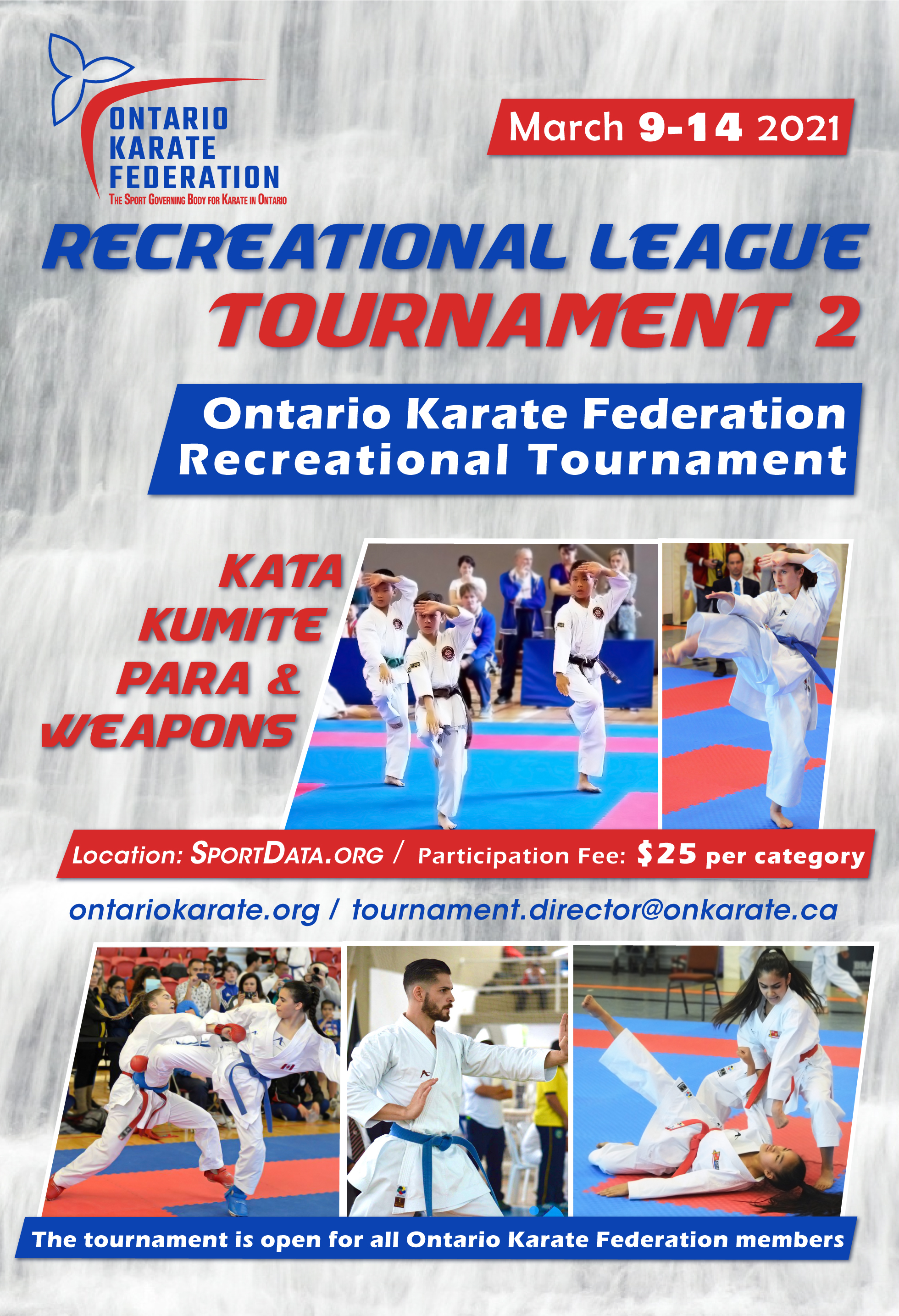 Recreational League Tournament 2 - package (press results to access) and poster